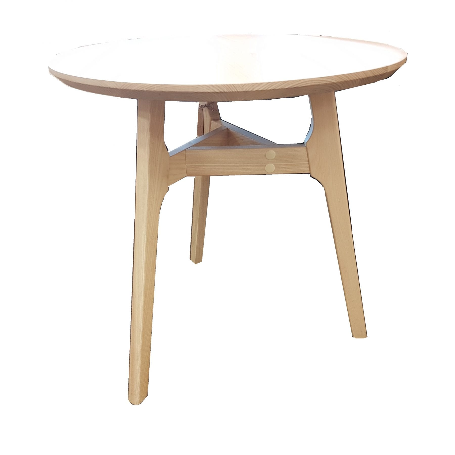 Butterfly Ash Side Table