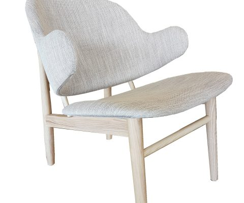 Butterfly Ash and Linen Chair