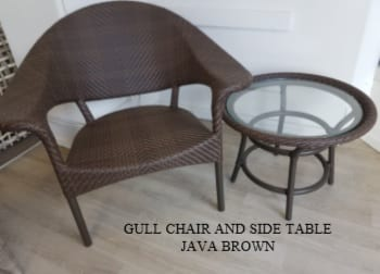 Gull Chair & Side Table