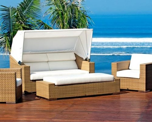 Quadro Daybed & Chairs